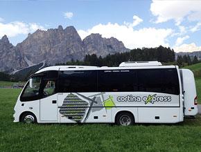 Cortina Express Mestre Cortina.Dolomiti Shuttle By Cortina Express Fleet